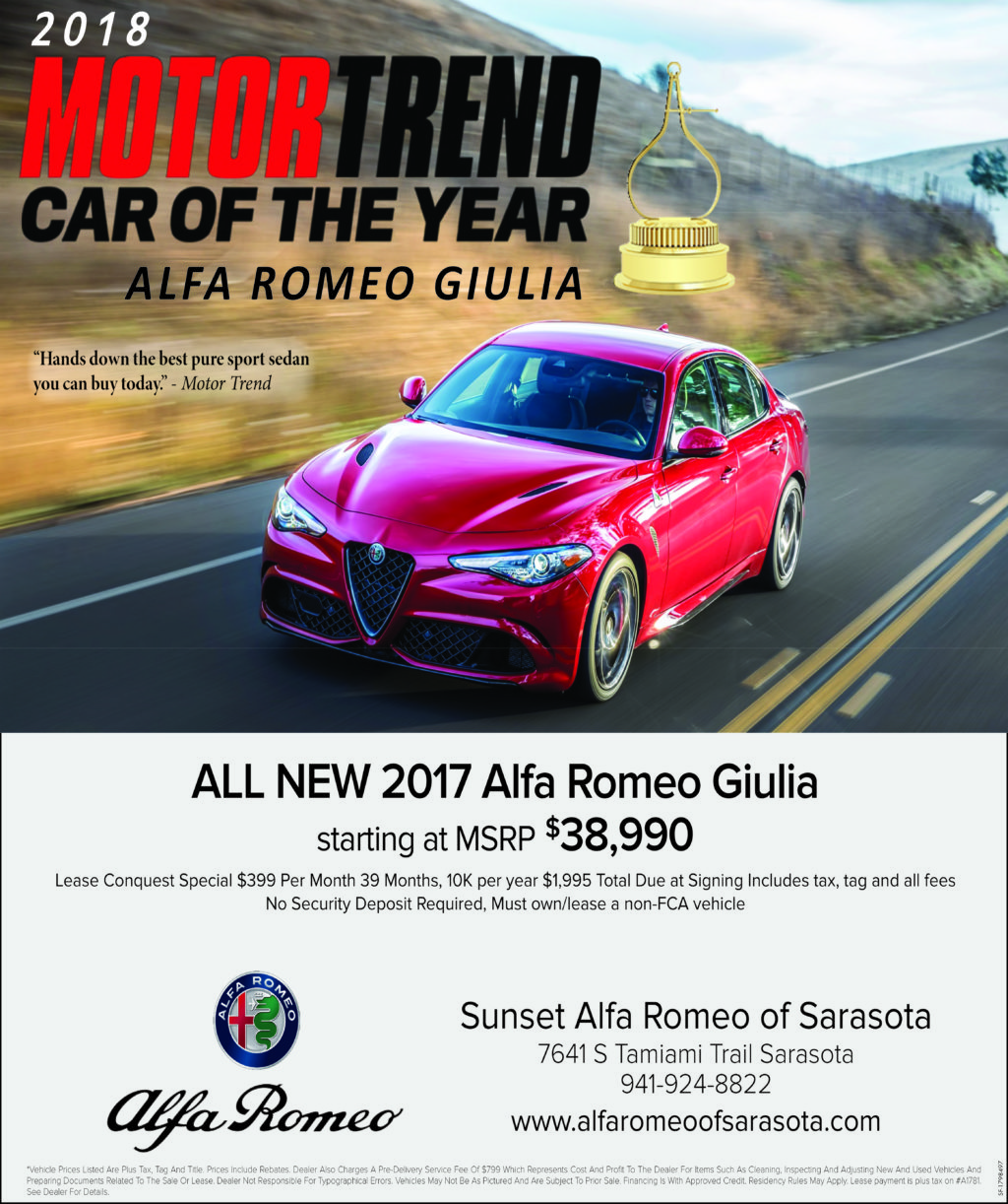 Sunset Alfa Romeo The Local Mag Magazines View Our Magazine Ad